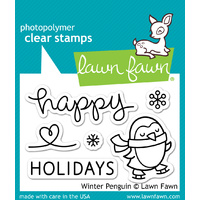 Lawn Fawn Stamps Winter Penguin LF727