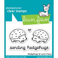 Lawn Fawn Stamps Hedgehugs LF729