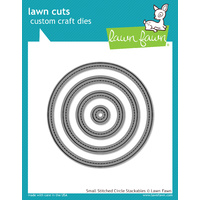 Lawn Fawn Cuts Small Stitched Circle Stackables Dies LF796