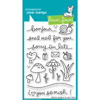 Lawn Fawn Stamps Gleeful Gardens LF799