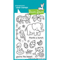 Lawn Fawn Stamps Critters in the Jungle LF803