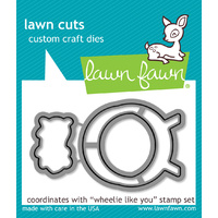 Lawn Fawn Cuts Wheelie Like You Dies LF839