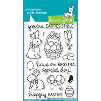Lawn Fawn Stamps Eggstra Special Easter LF840