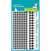 Lawn Fawn Stamps Gingham Backdrops LF847
