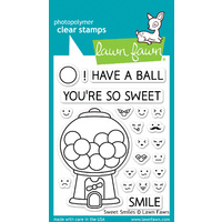 Lawn Fawn Stamps Sweet Smiles LF895