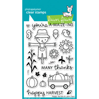 Lawn Fawn Stamps Happy Harvest LF971
