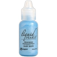 Liquid Pearls Dimensional Pearlescent Paint .5oz Baby Blue