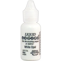 Liquid Pearls Dimensional Pearlescent Paint .5oz White Opal
