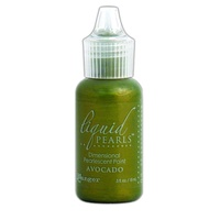 Liquid Pearls Dimensional Pearlescent Paint .5oz Avocado