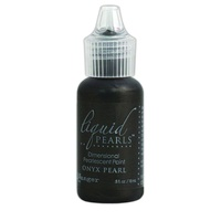 Liquid Pearls Dimensional Pearlescent Paint .5oz Onyx Pearl