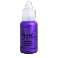 Liquid Pearls Dimensional Pearlescent Paint .5oz Orchid