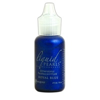 Liquid Pearls Dimensional Pearlescent Paint .5oz Royal Blue