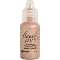 Liquid Pearls Dimensional Pearlescent Paint .5oz Rose Gold