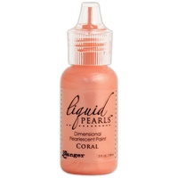 Liquid Pearls Dimensional Pearlescent Paint .5oz Coral