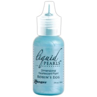 Liquid Pearls Dimensional Pearlescent Paint .5oz Robins Egg