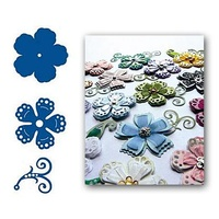 Marianne Design Creatables Ribbon Flowers 3 LR0110
