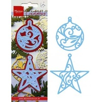 Marianne Design Creatables Christmas Star & Bauble LR0183