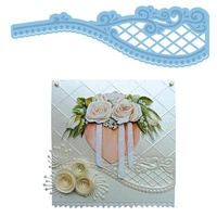 Marianne Design Creatables Die Anja Fancy Edge with Lattice LR0202