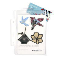 KaiserCraft Embroidered Badges Loire Valley LV133