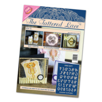 Tattered Lace Magazine Issue 3 with Free Elegant Alphabet Die