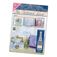 Tattered Lace Magazine Issue 4 with Free Champagne Bottle Die FREE SHIPPING