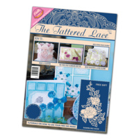 Tattered Lace Magazine Issue 5 with Free Rambling Rose Die