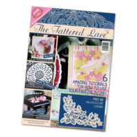 Tattered Lace Magazine Issue 14 with Free Kaleidoscope Corner Die