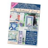 Tattered Lace Magazine Issue 15 with Free Alphabet Die