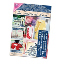 Tattered Lace Magazine Issue 16 with Free Vertical Sentiments Die
