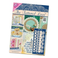 Tattered Lace Magazine Issue 17 with 4 Free Border Dies FREE SHIPPING