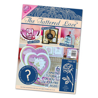 Tattered Lace Magazine Issue 21 with Long Stemmed Rose + Mystery Die FREE SHIPPING