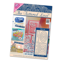 Tattered Lace Magazine Issue 24 with Mini Side Stepper Dies FREE SHIPPING