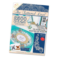 Tattered Lace Magazine Issue 28 with Lush Swirls Die