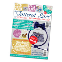 Tattered Lace Magazine Issue 29 with Vintage Handbag Die
