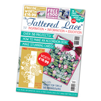 Tattered Lace Magazine Issue 30 with Blossom Over the Edge Die
