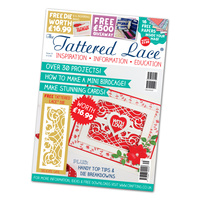 Tattered Lace Magazine Issue 31 with Delicate Gate Die