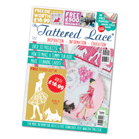 Tattered Lace Magazine Issue 35 with Walking the Scottie Die