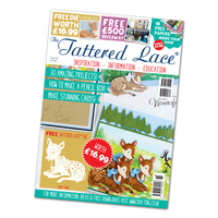 Tattered Lace Magazine Issue 36 with Baby Fawn Die