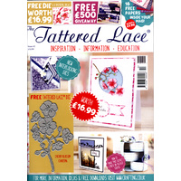 Tattered Lace Magazine Issue 42 with Cherry Blossom Die