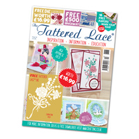 Tattered Lace Magazine Issue 44 with Carnation Posy Die