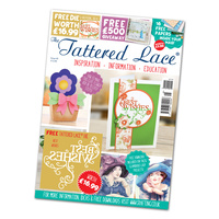 Tattered Lace Magazine Issue 45 with Best Wishes Die