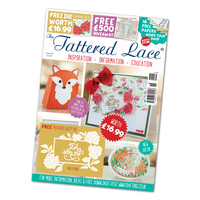 Tattered Lace Magazine Issue 46 with Rose Plaque Die