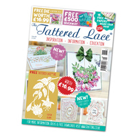 Tattered Lace Magazine Issue 48 with Fuchsia Blooms Die
