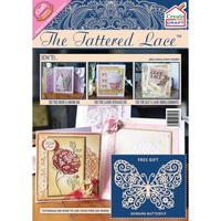 Tattered Lace Magazine Create and Craft with Demure Butterfly Die