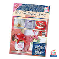 Tattered Lace Magazine C&C Christmas Special 2014 with Winter Wishes Die