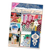 Tattered Lace Magazine Christmas Special 2015 with Bauble Die