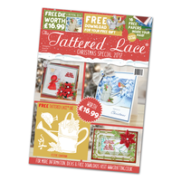 Tattered Lace Magazine Christmas Special 2017 with Festive Countdown Die