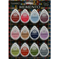 Memento Ink Pads Dew Drops Sorbet Scoops 12pc Set