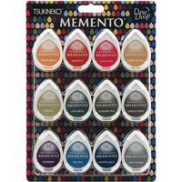Memento Ink Pads Dew Drops Snow Cones 12pc Set
