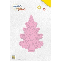 Nellie's Multi Frames Dies Christmas Tree 2 MFD045